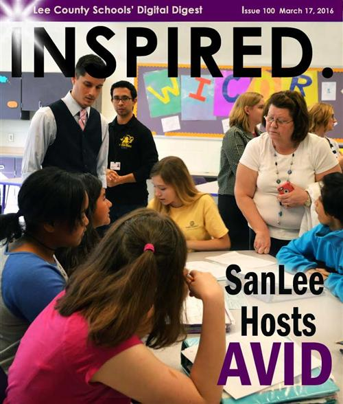 SanLee Hosts AVID