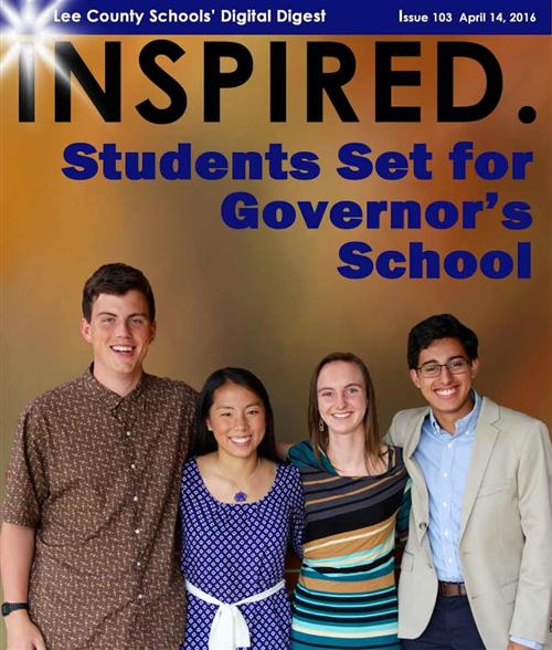 Students Set for Governor's School