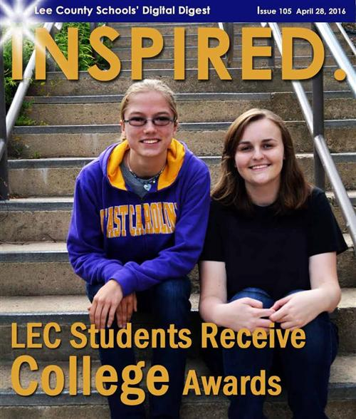 LEC Students Receive College Awards