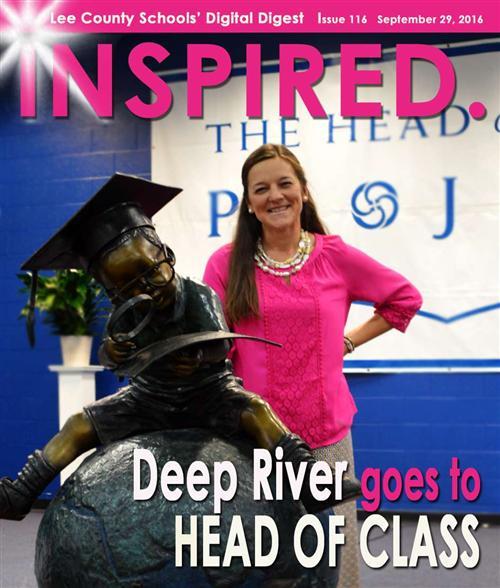 INSPIRED. Deep River goes to Head of Class