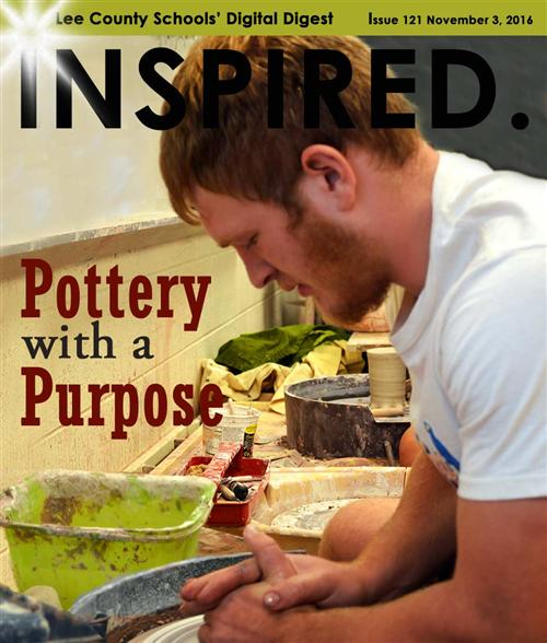INSPIRED. Pottery with a Purpose
