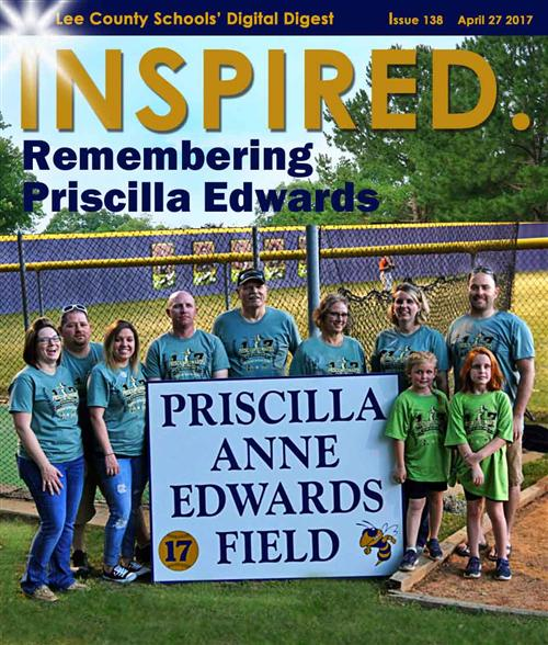 INSPIRED. Remembering Priscilla Edwards