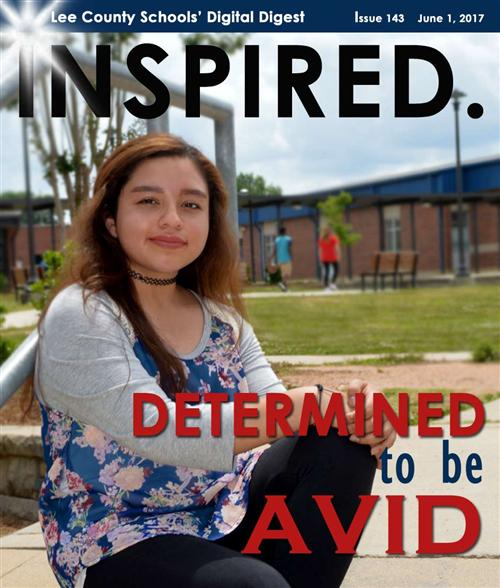 INSPIRED. Determined to be AVID