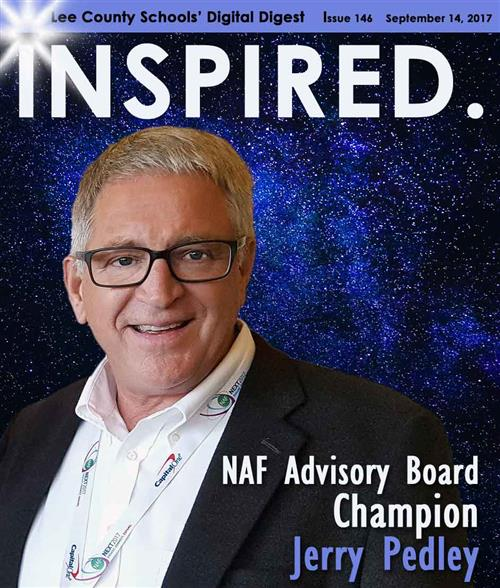 INSPIRED. NAF Advisory Board Champion Jerry Pedley