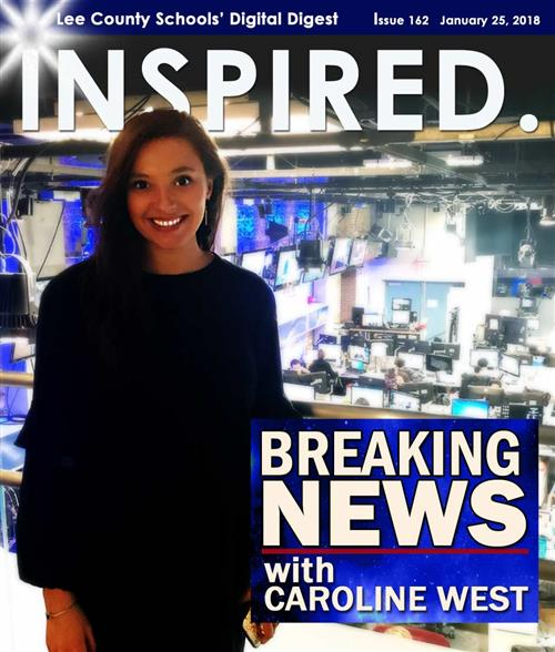 INSPIRED. Breaking News with Caroline West