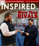 INSPIRED. More Than Rivals