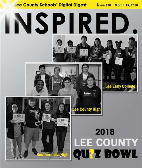 INSPIRED. 2018 Lee County QUIZ Bowl