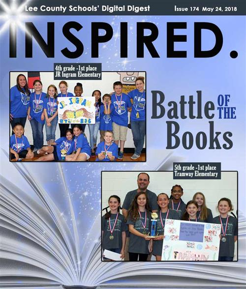 INSPIRED. Battle of the Books
