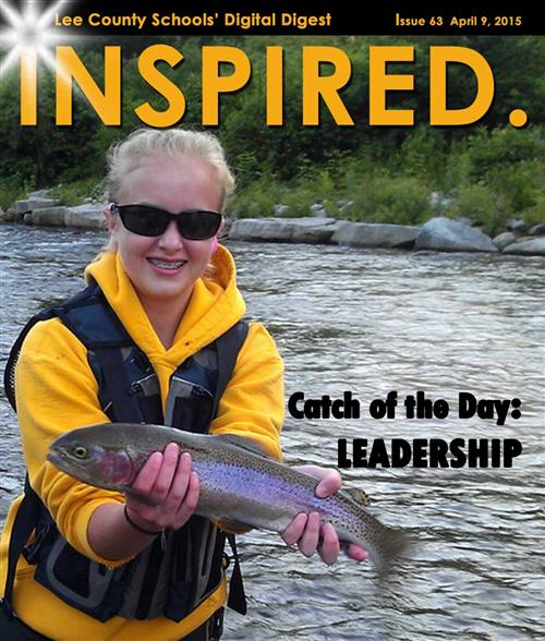 INSPIRED.  Catch of the Day:  Leadership