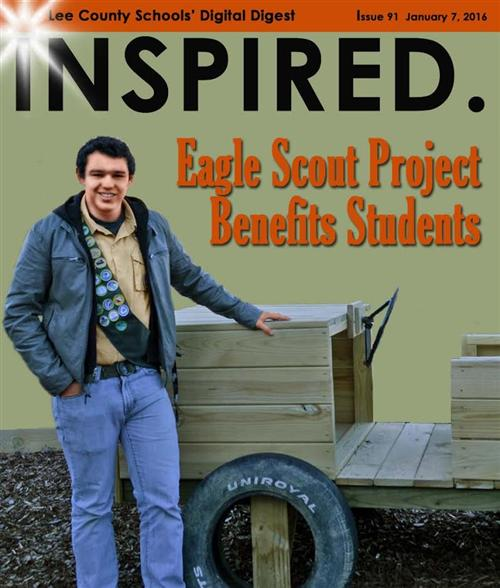 Eagle Scout Project Benefits Students