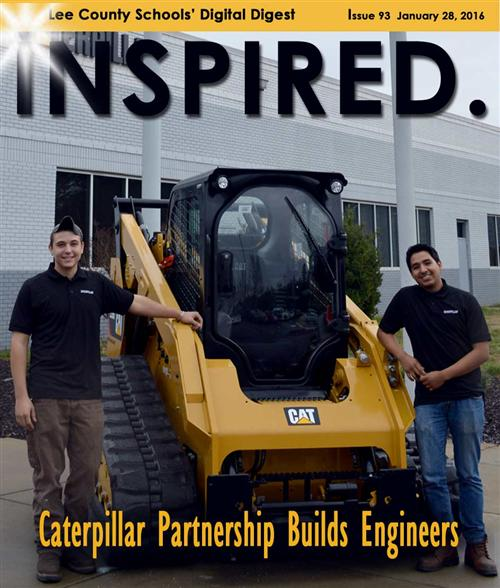 INSPIRED /> Caterpillar Partnership Builds Engineers