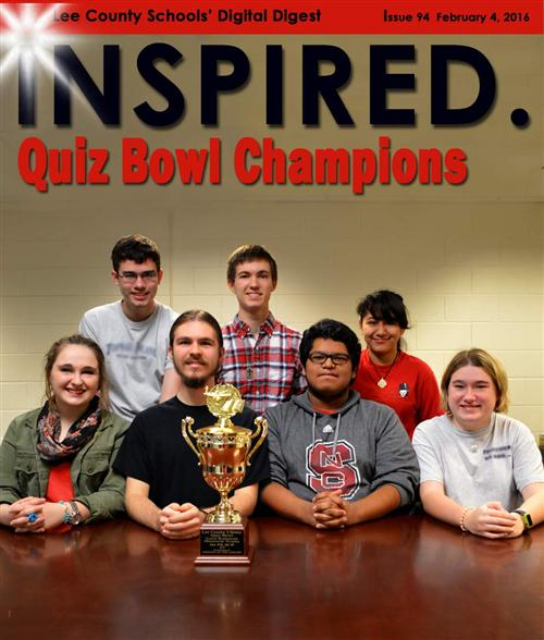 INSPIRED. Quiz Bowl Champions