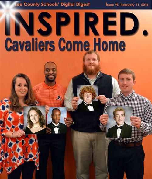 INSPIRED. Cavaliers Come Home