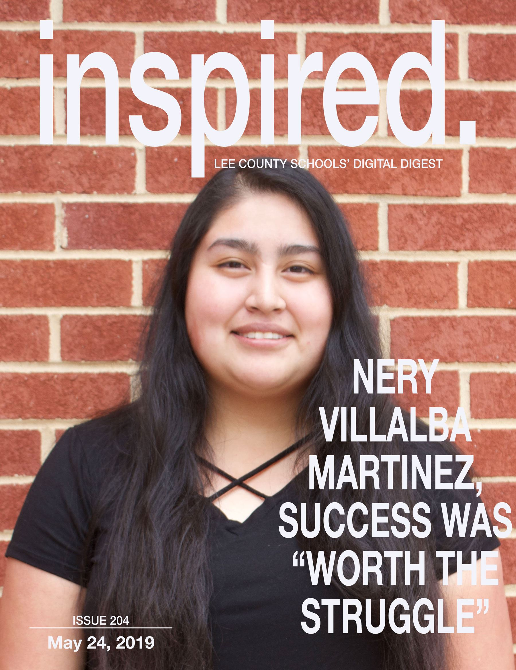 "INSPIRED. Nery Villalba Martinez, Success Was ""Worth The Struggle"""