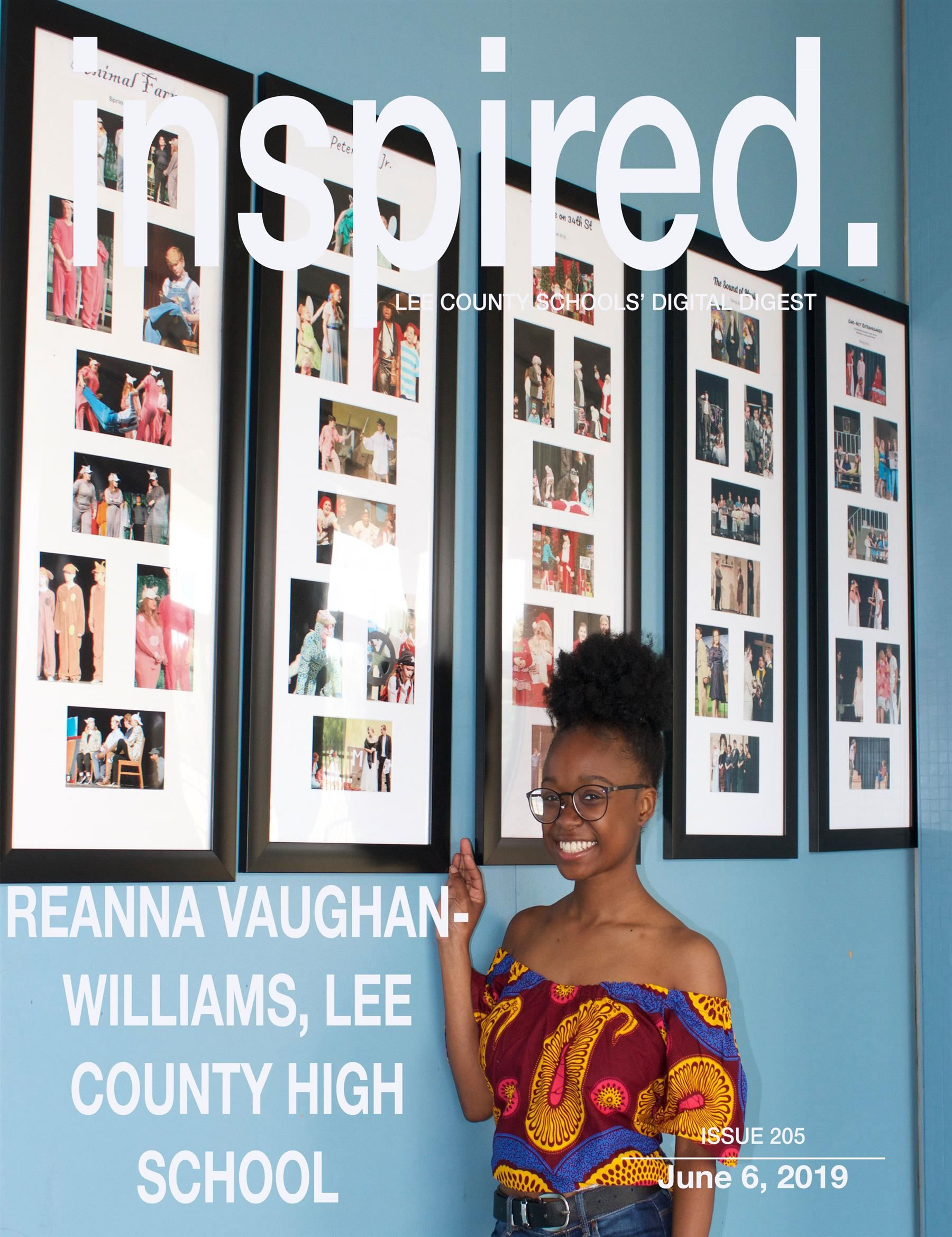 INSPIRED. Reanna Vaughan-Williams, Lee County High School