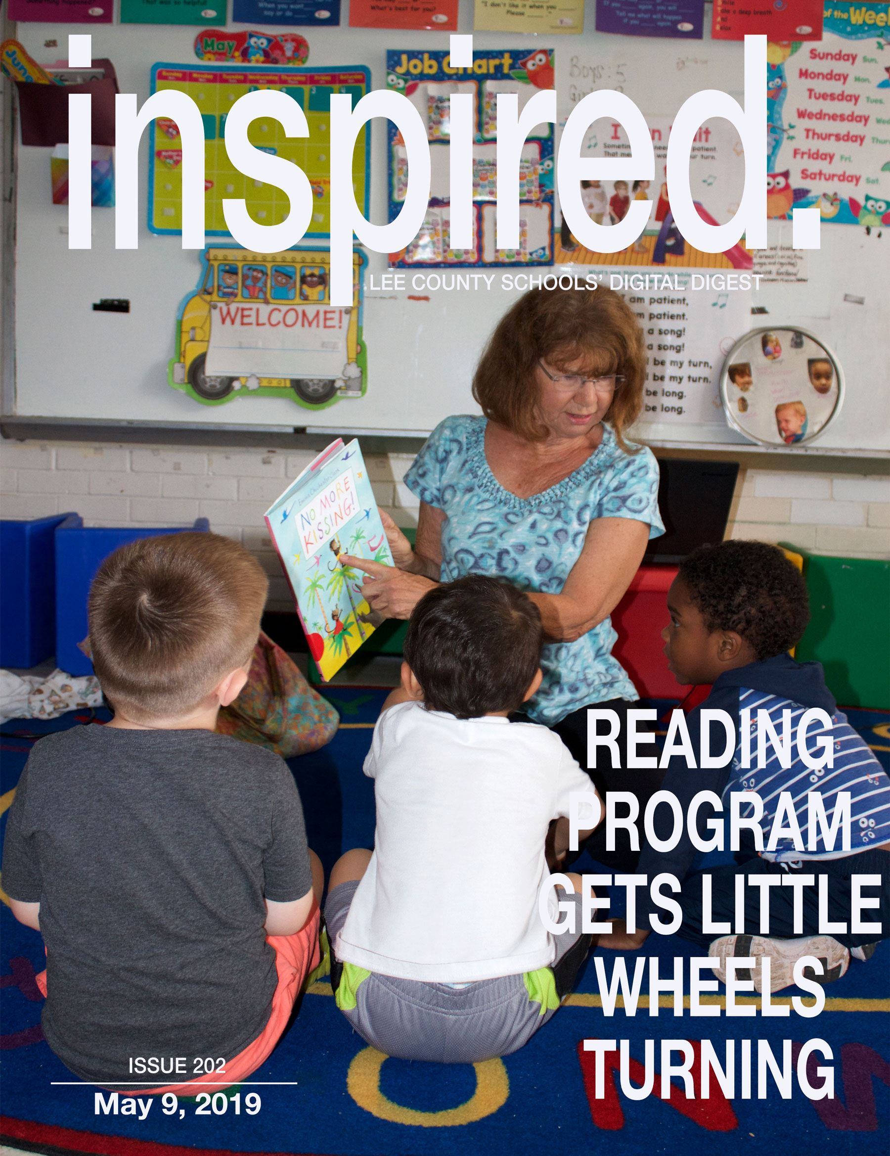 INSPIRED. Reading Program Gets Little Wheels Turning