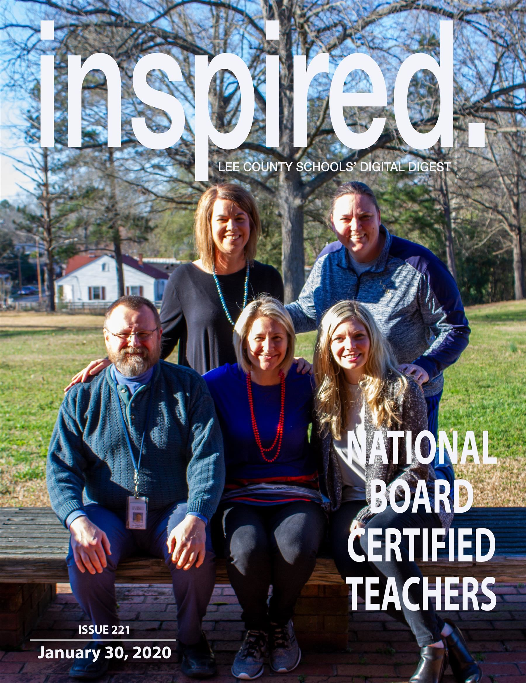 INSPIRED. National Board Certified Teachers