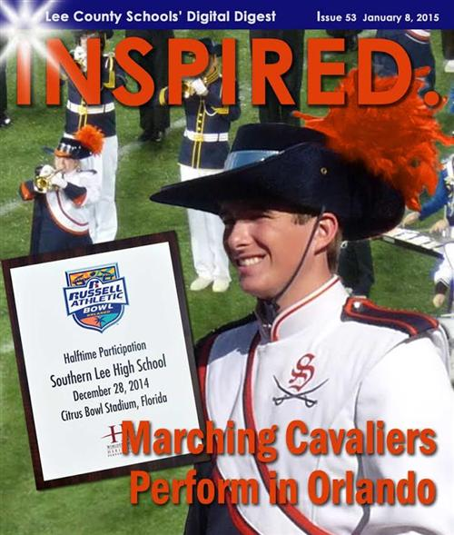Marching Cavaliers Perform in Citrus Bowl