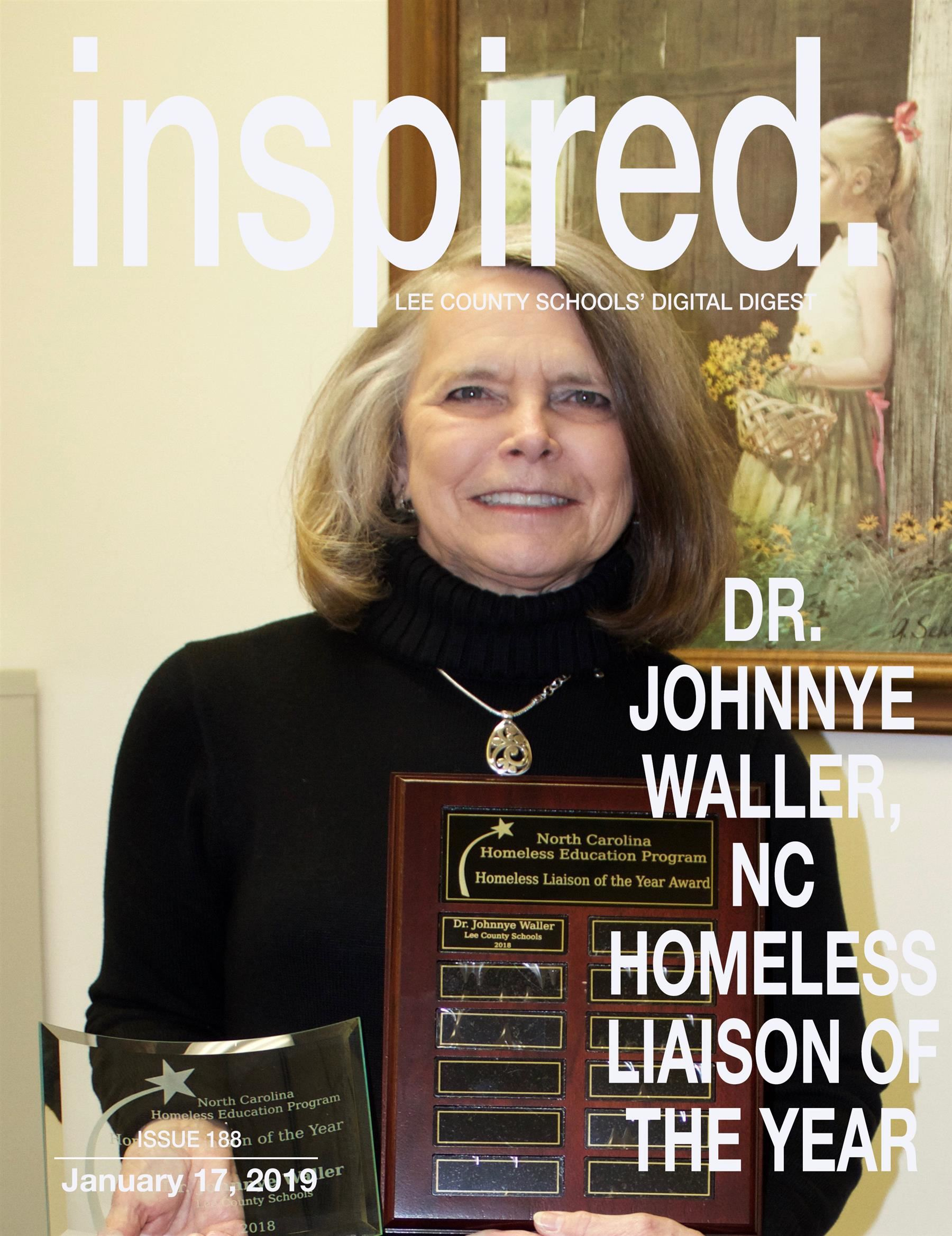 Dr. Johnnye Waller, NC Homeless Liaison of the Year