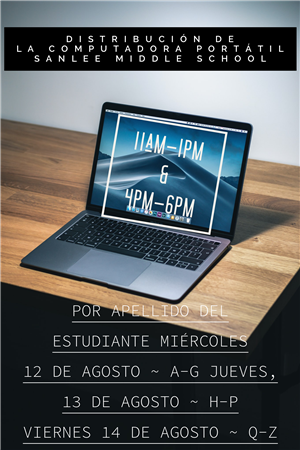 laptop distribution spanish