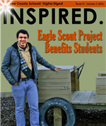 Inspired-Eagle Scout Project Benefits Students