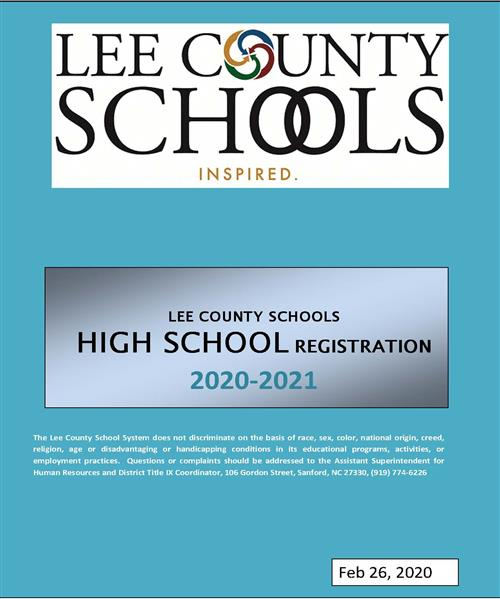 LCS High School Registration Guide Cover Photo