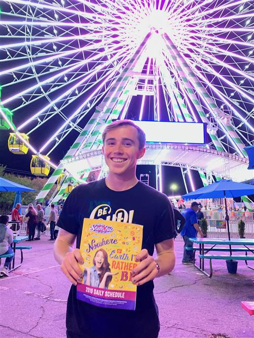 Picture of me at the State Fair last year