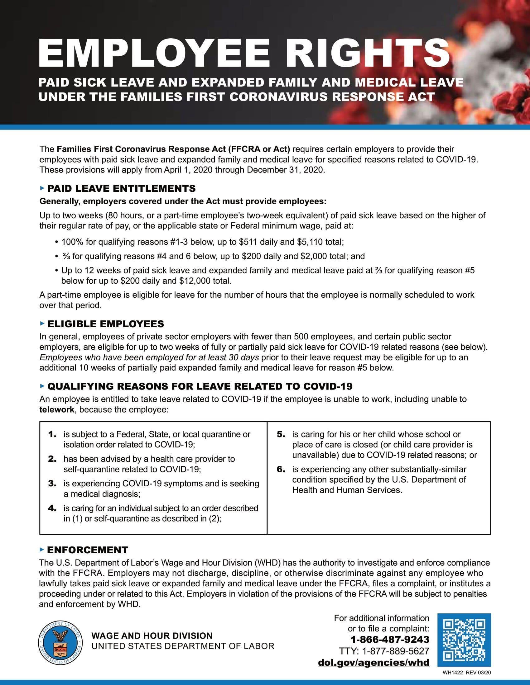 Employee Rights regarding COVID-19