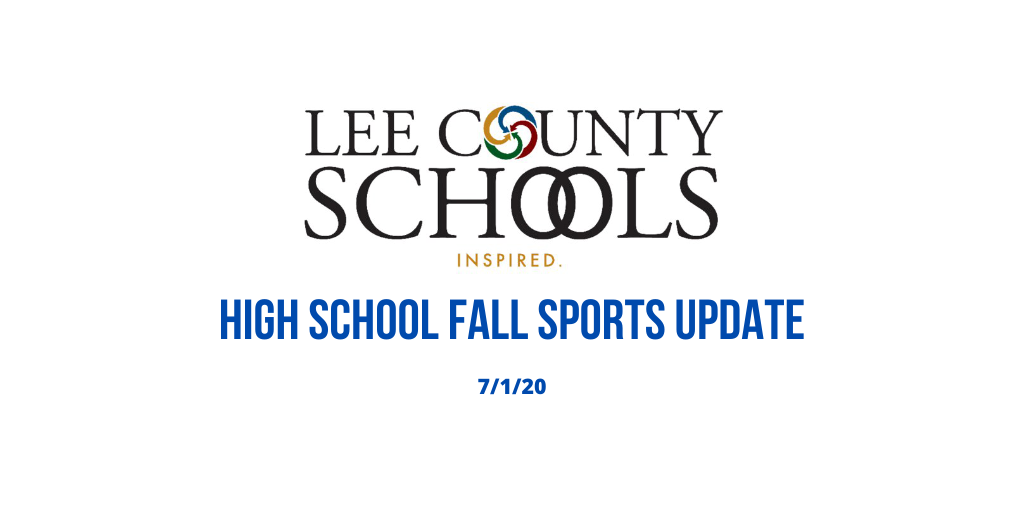 High School Fall Sports Update