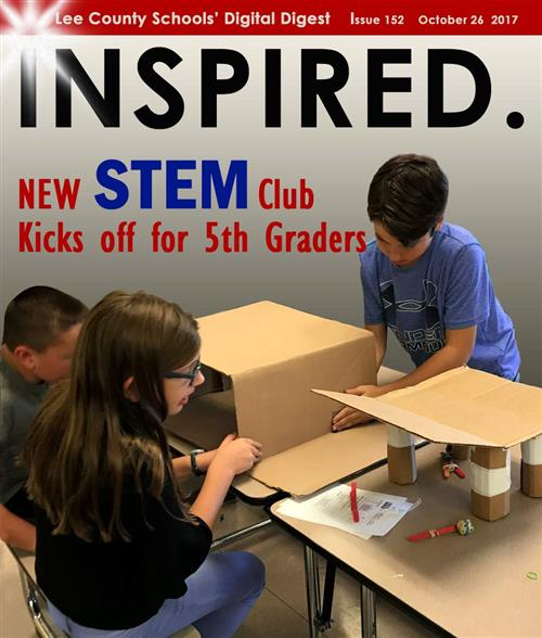 INSPIRED. New STEM Club Kicks Off For 5th Graders