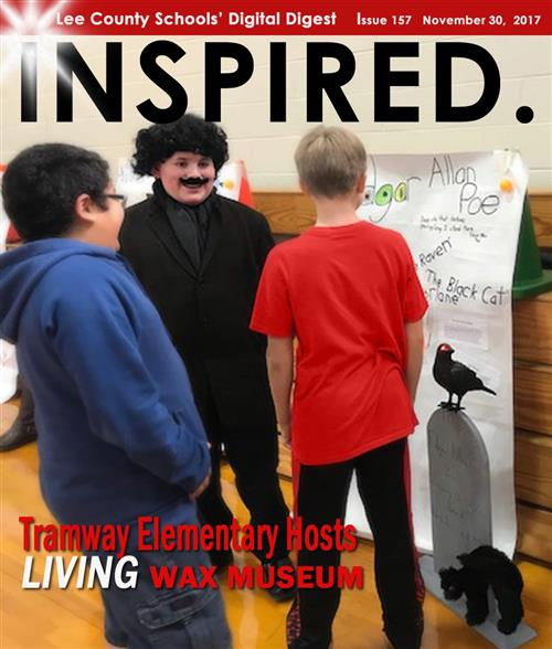 INSPIRED.  Tramway Elementary Hosts Living Wax Museum