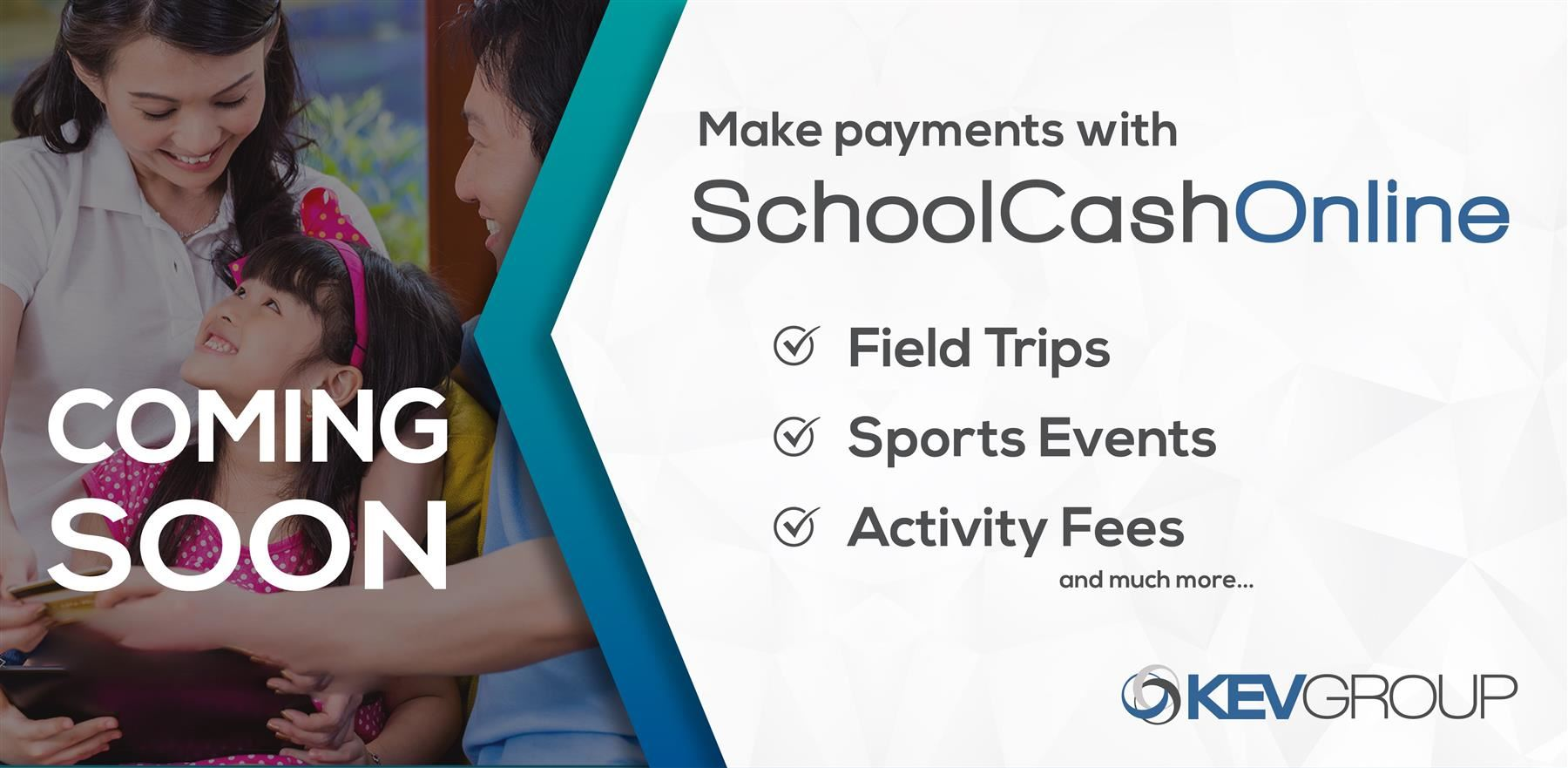 Coming soon — SchoolCash Online