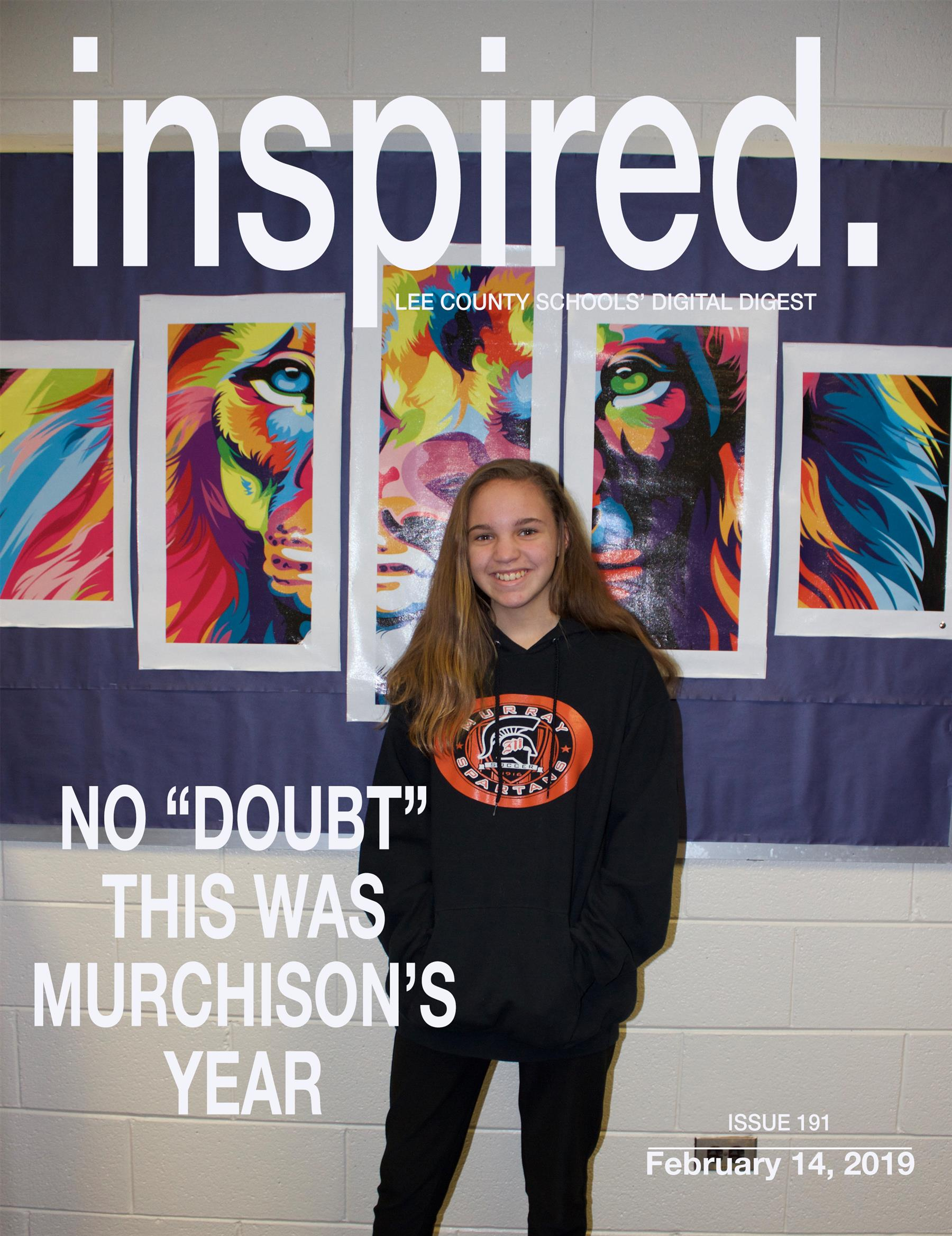 "INSPIRED. No ""Doubt"" This Was Murchison's Year"