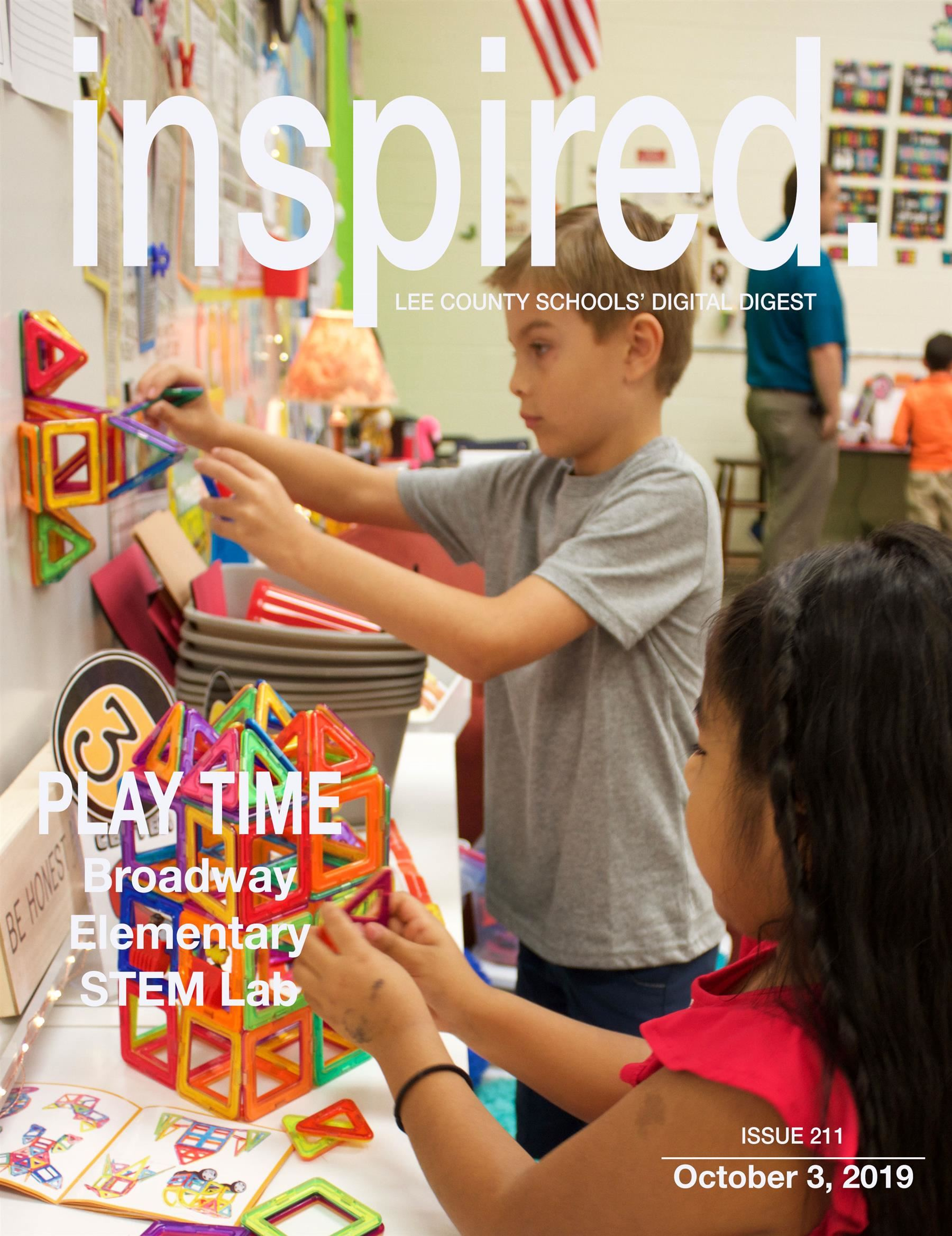 INSPIRED. PLAY TIME: Broadway Elementary STEM Lab