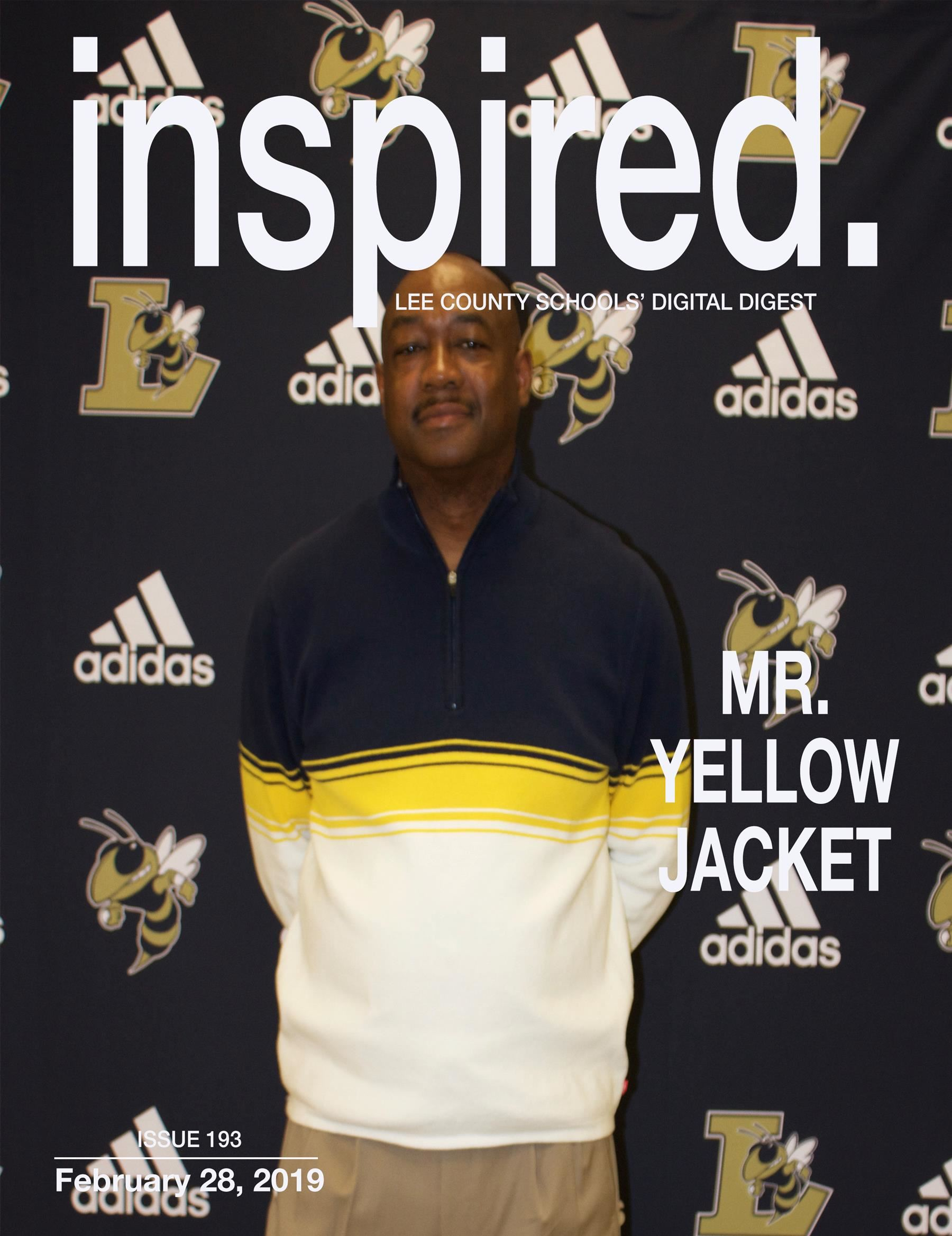 INSPIRED. Mr. Yellow Jacket