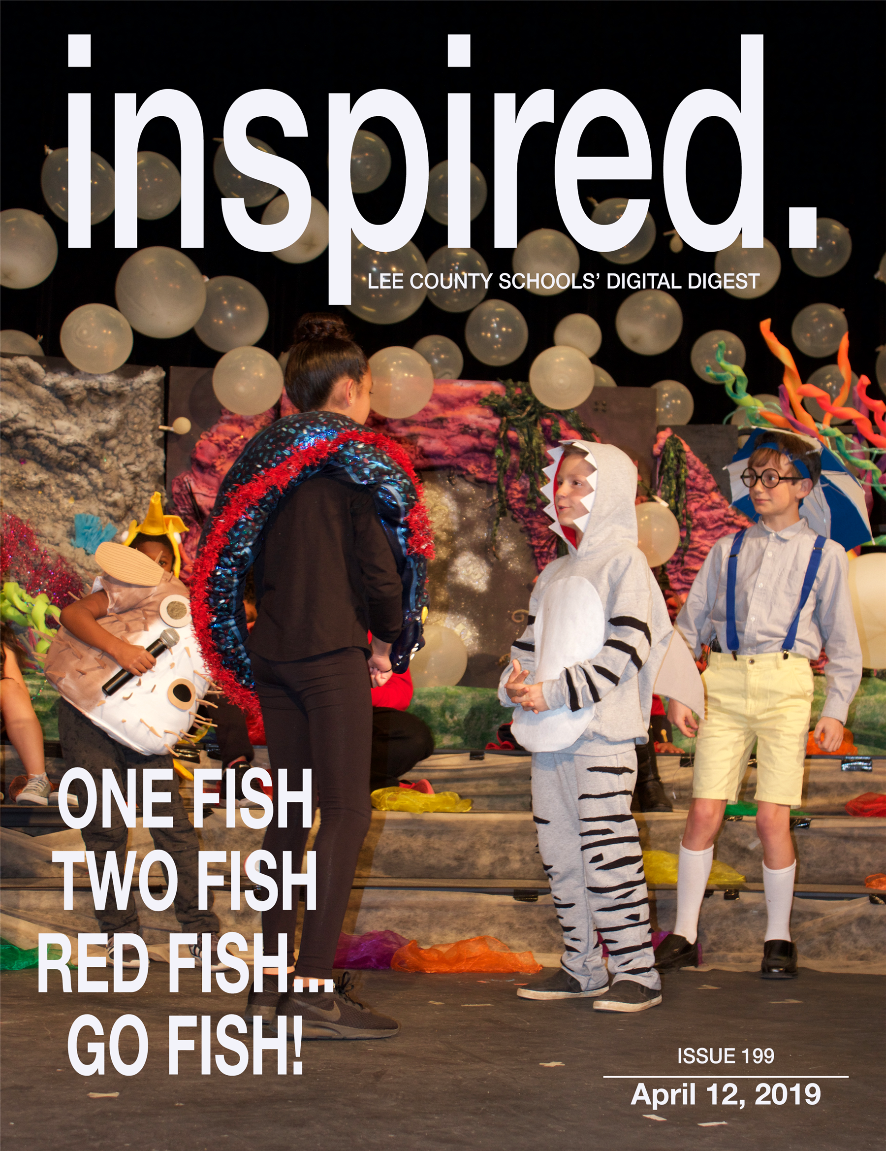INSPIRED. One Fish, Two Fish, Red Fish...Go Fish!
