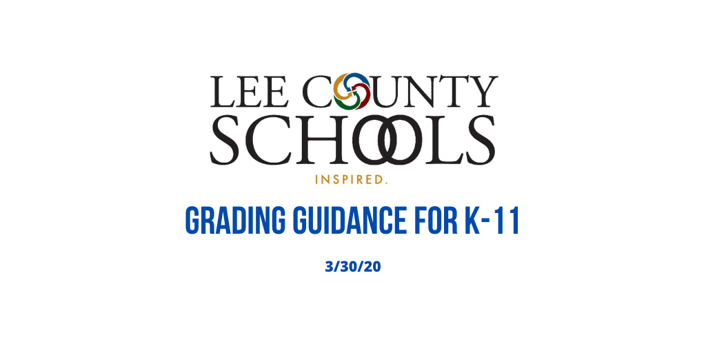 Grading Guidance For K-11