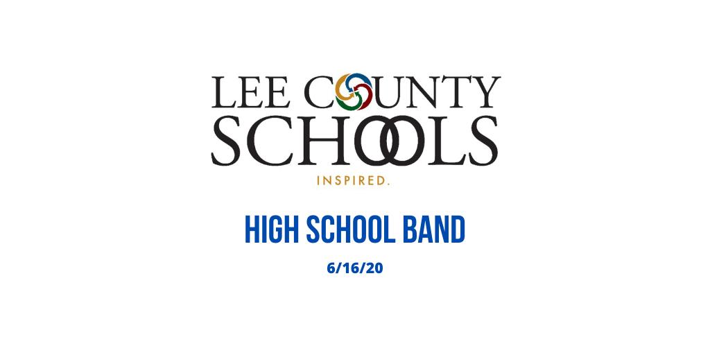 High School Band Announcement
