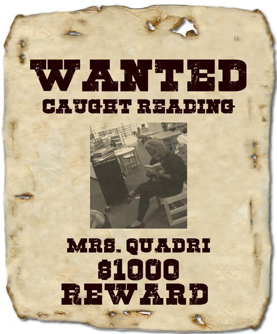 WANTED: West Lee Middle readers