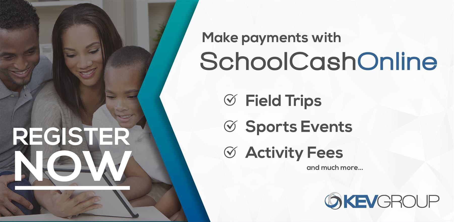 Make payments with SchoolCash Online!