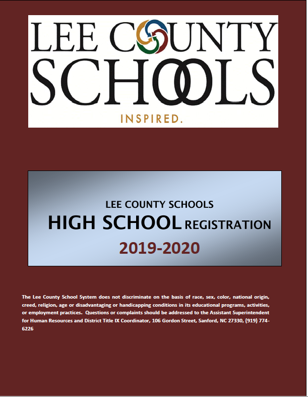 Lee County Schools High School Registration Guide