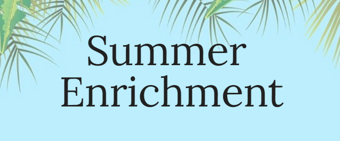 Summer Enrichment Website