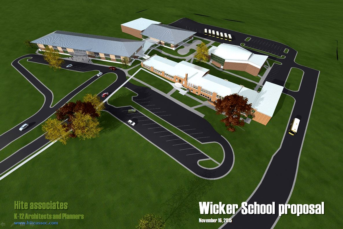 Lee County Schools will open a new elementary school – W.B. Wicker Elementary School – in August 201