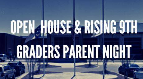 Lee County High Open House and Rising Ninth Graders Parent Night