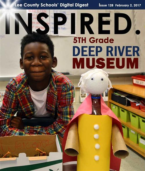 INSPIRED. 5th Grade Deep River Museum