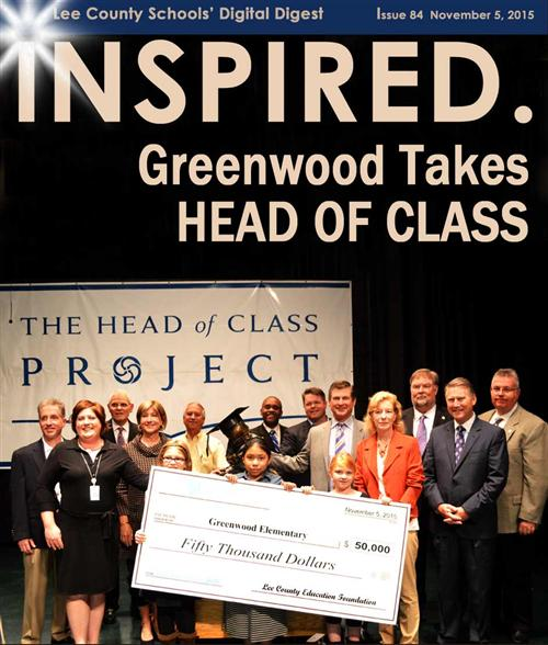 Greenwood Takes Head of Class