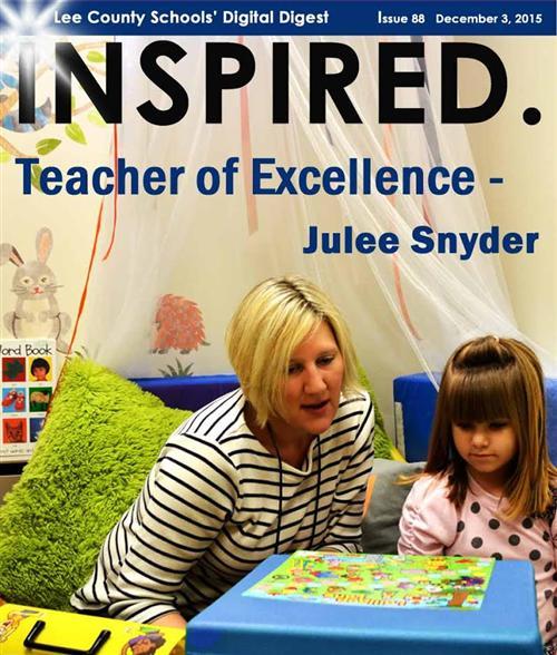 Teacher of Excellence - Julee Snyder